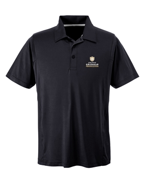 Picture of HGS Athletics Mens Performance Polo (Black)
