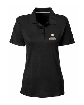 Picture of HGS Athletics Ladies Performance Polo (Black)