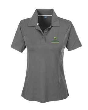 Picture of HGS Athletics Ladies Performance Polo (Grey)