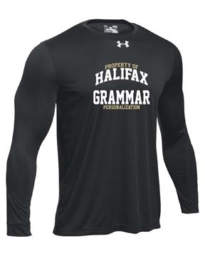 Picture of HGS Athletics UA Mens Long Sleeve T-Shirt (Black)