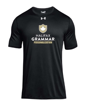 Picture of HGS Athletics Mens UA Performance T-Shirt (Black w Logo)