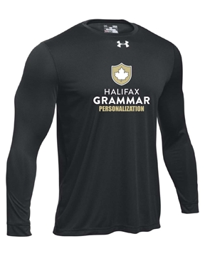 Picture of HGS Athletics UA Mens Long Sleeve T-Shirt (Black w Logo)