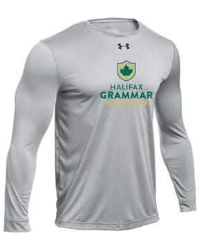 Picture of HGS Athletics UA Mens Long Sleeve T-Shirt (Grey w Logo)