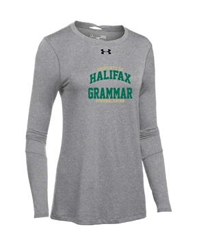 Picture of HGS Athletics UA Ladies Long Sleeve T-Shirt (Grey)